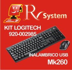 KIT LOGITEC MK260 CHICO