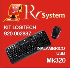 KIT LOGITEC MK320 CHICO